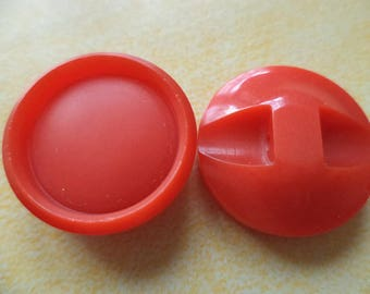 7 buttons red 18mm (4903)