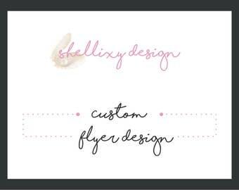 Graphic Design   Custom Flyer Design   Flyer Cards