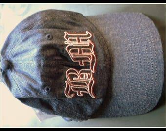 Cap Cap Jeans logo bad + mad cult brand since 1980-ER years baseball cap Trucker Vintage