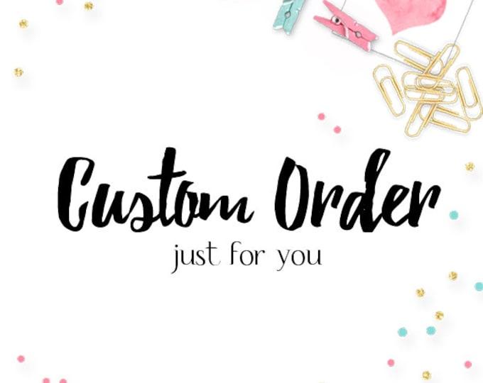 Custom Order-Iron On Upgrade