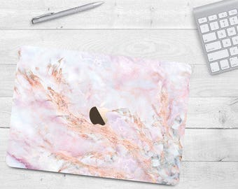 Pink Marble Case Macbook Air 11 Air 13 Grey Hard Case Macbook Pro 13 15 Golden Marble Case Macbook 12 White Marble Rose Marble Macbook Case