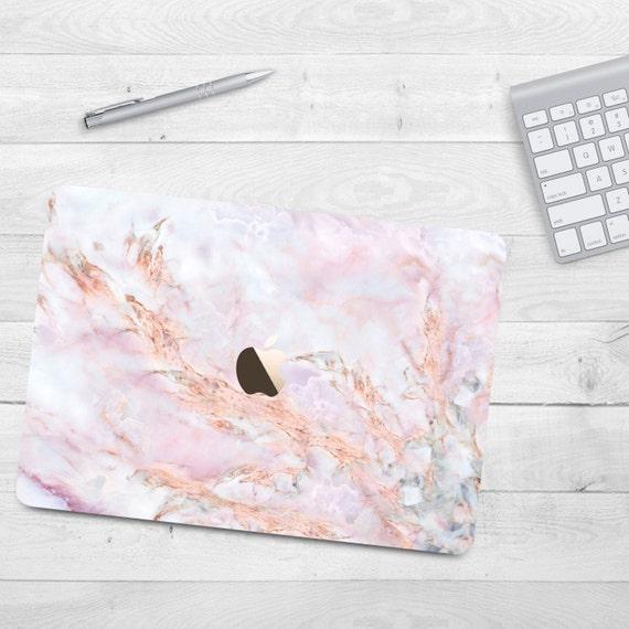 Pink Marble Case Macbook Air 11 Air 13 Grey Hard By