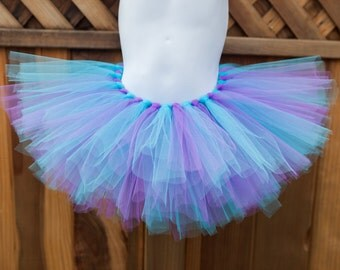 Lavender and Aqua Tutu - Other Colors Available