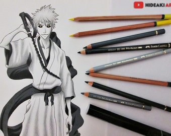 Hollow Ichigo || Bleach || ORIGINAL DRAWING
