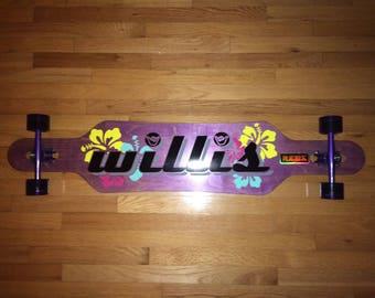"48"" Custom Willis Longboard Drop-Through"