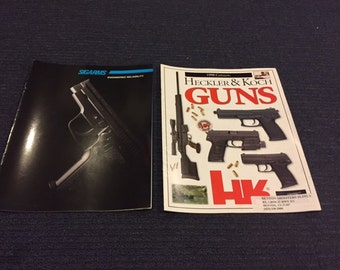 Vintage HK and Sig Arms Product Catalogs