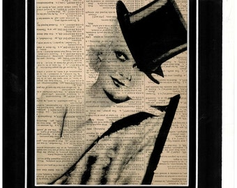 Dictionary art Jean Harlow
