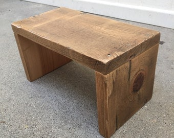 Reclaimed Wood Couch Arm Sleeve (now 40% off!)