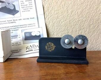 Vintage Rada Knife Sharpener