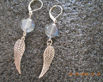 Angel wings earrigs