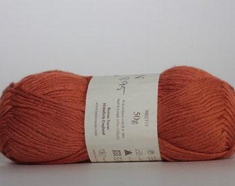 Rowan Lenpur Linen   color SH 561, Lot 8073891   orange