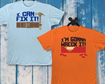 I'm Gonna Wreck It / I Can Fix It | Couples Shirts | Disney-Inspired | Wreck It Ralph | Fix It Felix