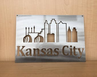 Kansas City Wall Art kcmo | etsy