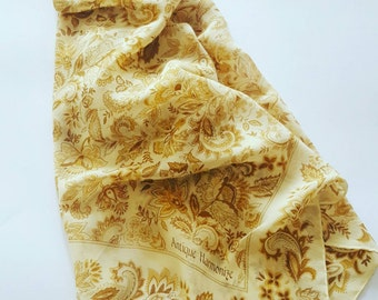 Scarf  vintage Antique Armonize