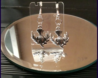 Scottish Thistle earrings