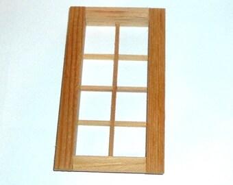 Miniature WINDOW FOR DOLLHOUSE
