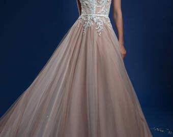 "Wedding Dress ""Elizabet"", evening dress, color dress"