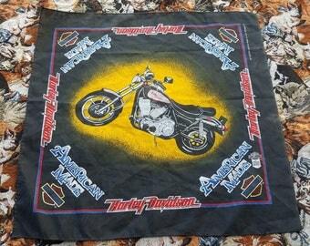Vintage Harley Davidson Bandana