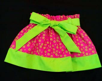 Meloney's Design handmade sizt 2t skirt