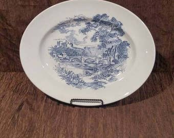 "Wedgwood Countryside 14 1/4"" platter free shipping"