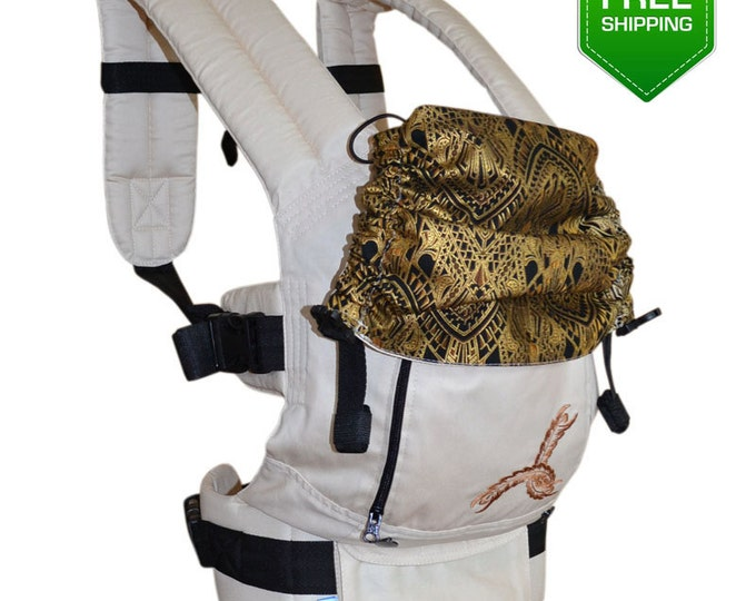 Cotton Buckle Baby Carrier, Toddler Carrier, Ergo Baby Carrier, Baby Carrier, Buckle Baby Carrier, Back Carrier, Front Carrier, Hip Carrier