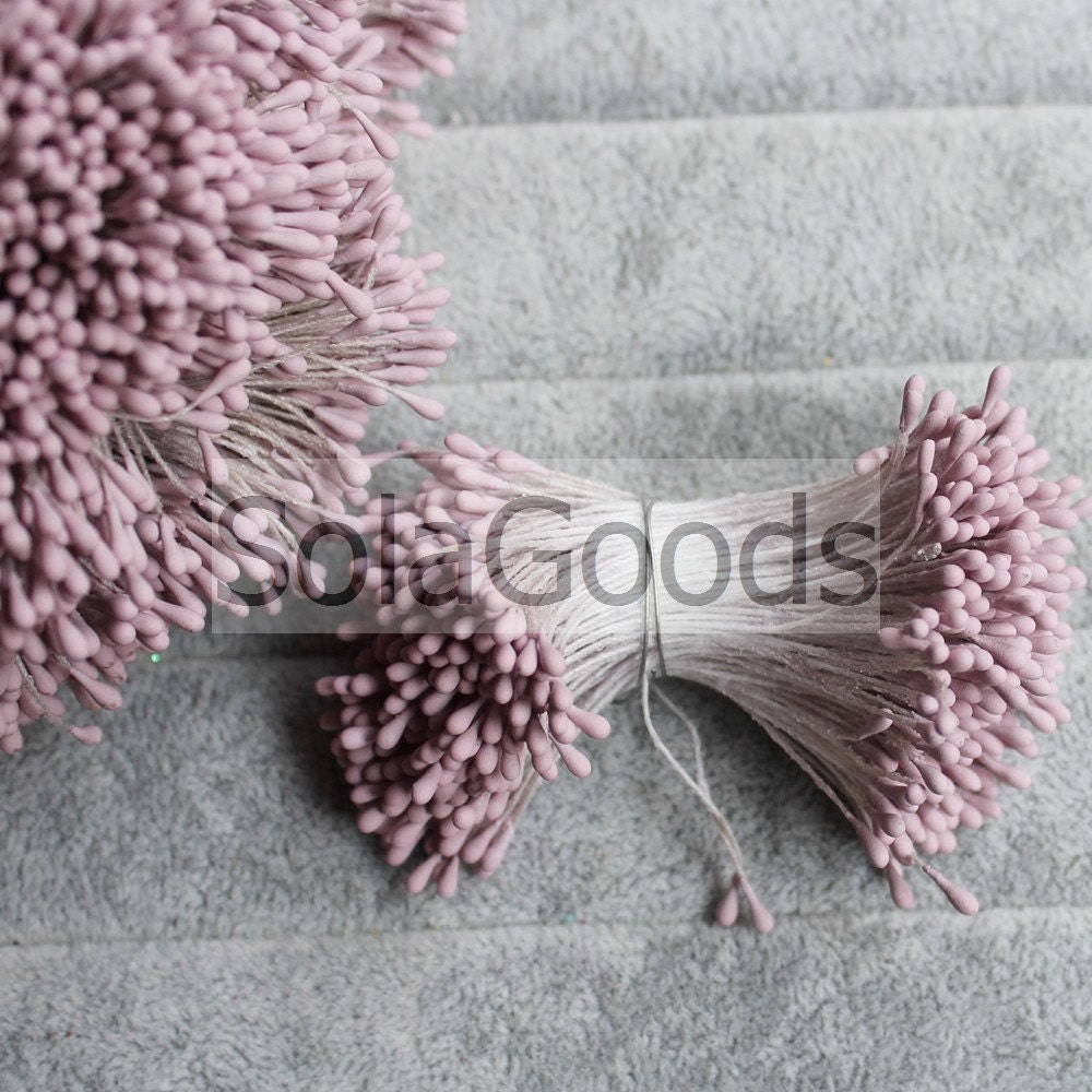 2MM Plaster Flower Pistils Stamen Faux Artificial Flower