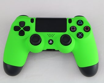 Sony Playstation Dualshock PS4 Wireless Controller Custom Soft Touch Green