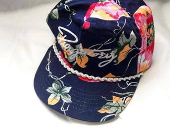 Vintage Purgatory Dad Hat // Boat Cap // Summer Cap // Beach Hat // Upcycled
