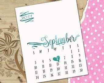 Expecting baby reveal calendar Expecting baby announcement calendar Pregnancy announce custom calendar Pregnancy reveal calendar C5