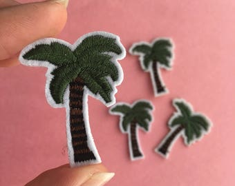 Coconut tree Iron on Patch