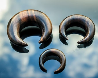 Sono wood ear stretchers simple curve