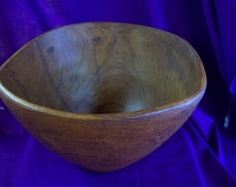 Vintage Burl Wood Bowl