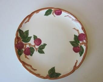 """14"""" Round Franciscan Ware Apple Platter"""