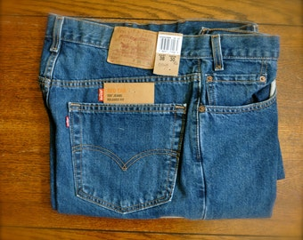 Vintage Levi's 550 Red Tab Relaxed Fit W38 L30 New With Tags Men's