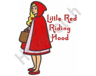 Little Red Riding Hood - Machine Embroidery Design