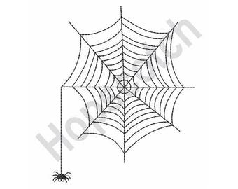 Spider Web - Machine Embroidery Design