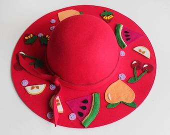 Fruit Salad Sun Hat