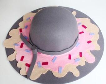 Cappello da sole Splatter gelato