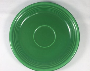 Genuine Fiesta RARE Medium Green Teacup Saucer