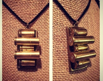 Bullet shell casing necklace