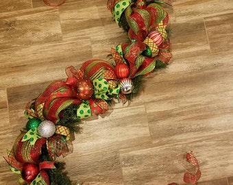 Christmas 9 ft Garland (#01CG)