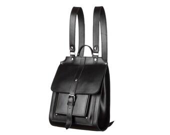 Classic backpack woman backpack men backpack leather rucksack black backpack city backpack trendy backpack office backpack handmade backpack