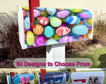 Easter Eggs Magnetic Mailbox Cover