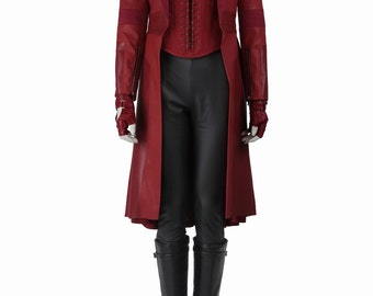 Scarlet Witch Wanda Maximoff Cosplay Costumes
