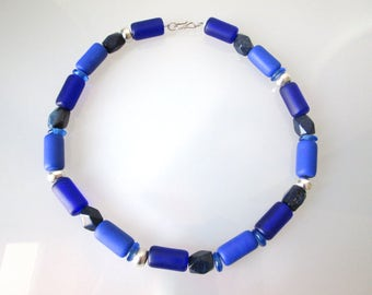 Necklace Lapis statementkette