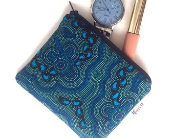 Aboriginal On Walkabout print Coin Purse