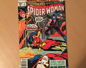 Spider-Woman (1978-1983 1st Series) #4 FN+