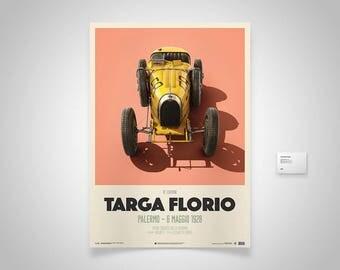 Bugatti T35 Poster