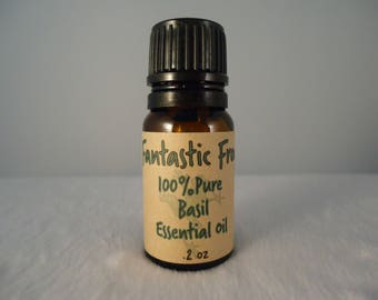 Basil 100% Pure Essential Oil .2 oz