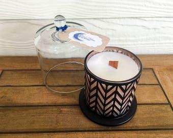Handmade Soy Candle - Geometric Dome